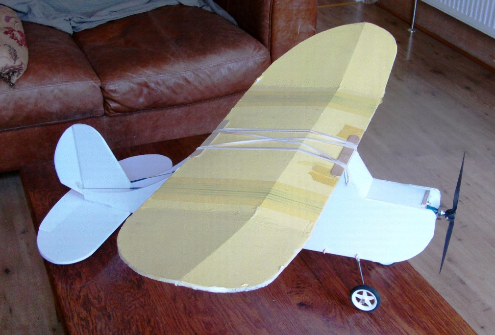 Alistair Potter's RC plane tips - Old Fogey fuselage swap